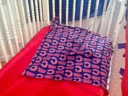 Chicago Cubs Crib Bedding Price Reduction Ready To Go Chicago Cubs Baby Bedding Set