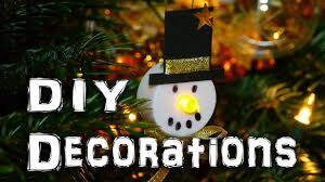 Make Your Own Christmas Light Decorations by Diy Snowman Decorations Christmas Holidays Craft Idea Youtube