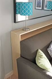Headboard Bookshelves by Best 25 Shelf Behind Couch Ideas On Pinterest Small Couch For