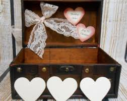 wishing box wedding wedding wishes box etsy