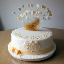 golden wedding cakes wedding cakes cool 50th wedding anniversary cake topper to