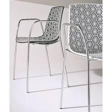 chaise cuisine avec accoudoir de cuisine en plexiglas avec accoudoirs alhambra92