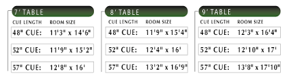 Pool Table Dimensions pool tables for sale with free shipping gametablesonline com