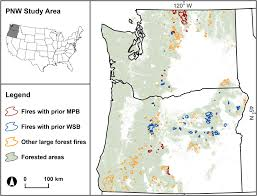 Oregon Forest Fires Map by Do Insect Outbreaks Reduce The Severity Of Subsequent Forest Fires