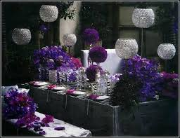 21st Party Decorations Purple And Silver Party Decorations Home Design Judea Us