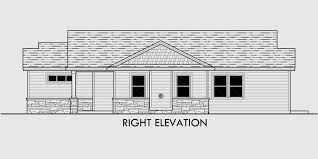 House Plans Single Level Cost Efficient House Plans Empty Nester House Plans House Plans