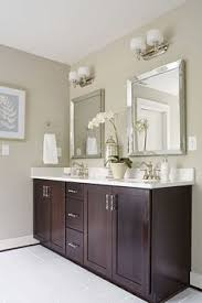 Gorgeous In Grey Double The Fun This Bath Vanity Is A Master - Bathrooms lighting