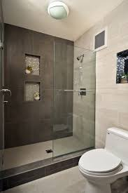 Open Shower Bathroom Design Walk In Shower Glass Block Shower Bathroom Remodel Bathroom Ideas