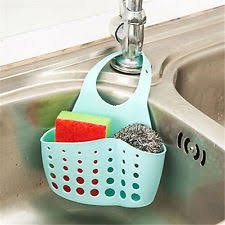Kitchen Sponge Holder EBay - Kitchen sink sponge holder