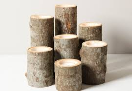 Tree Branch Candle Holder Rustic Wood Candle Holders Home Design Ideas