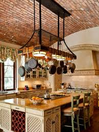 kitchen island pot rack lighting fascinating kitchen island pot rack lighting layout home