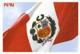 Lima Flag Postcard A La Carte Peru Flag