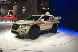 nissan rogue one star wars new york auto show unique and interactive exhibits roundup