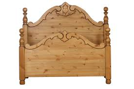 pine valley 5ft carved divan headboard