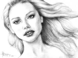 sketch female face how to draw a woman youtube drawing art gallery