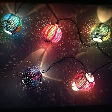 decoration galaxy light paper lantern string lights for your
