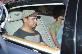 Aamir Khan Home Aamir Khan Kiran Rao Aamir Khan Visits Sanjay Dutt Home Photo 269