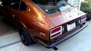 1974 nissan 260z 1974 early datsun 260z youtube