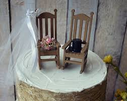 chair cake topper rocking chair cake etsy