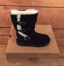ugg bryce womens 1009177 blk ugg black zipper boot ebay