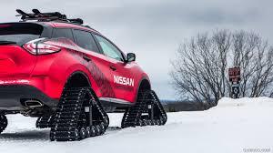 Nissan Rogue Warrior - 2016 nissan murano winter warrior concept on tracks in snow hd