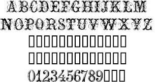 ornamental font by house of lime fontriver