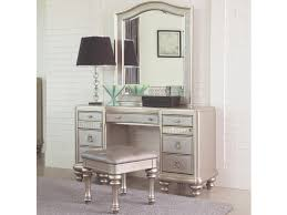 Computer Game Desk by Coaster Bling Game Vanity Desk With 7 Drawers And Stacked Bun Feet