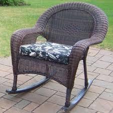 Resin Wicker Rocking Chair Wicker Rocking Chairs You U0027ll Love Wayfair