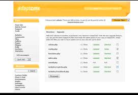 adaptcms lite simple php based open source cms dreamcss