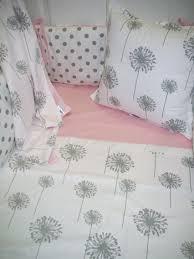 grey dandelion polka dot baby bedding2 jpg