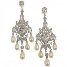 bridal chandelier earrings bridal earrings wedding jewelry bellagio
