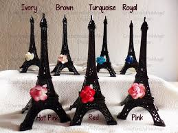 eiffel tower favors 6 metal eiffel tower eiffel tower cake topper cake topper