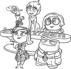 disney pixar inside out coloring page wecoloringpage