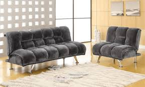 extra soft plush futon set with chair