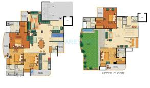 Penthouse Floor Plan by 5 Bhk 4330 Sq Ft Penthouse For Sale In Supertech Emerald Court