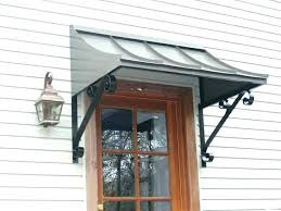 Exterior Door Awnings Front Door Awnings Sewing Patterns Pertaining To Metal Awning Plan