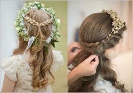 coiffure mariage enfant dulcinée coiffure pour fille pour mariage coiffure pour