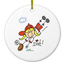 Softball Christmas Ornament - cartoon softball christmas tree decorations u0026 ornaments zazzle co uk