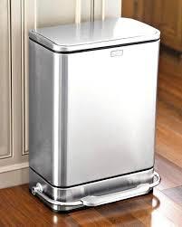 kitchen bin ideas lovely stainless steel rectangular recycling kitchen bin ideas