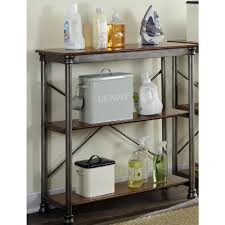 vintage on the shelf home styles three shelf 38 in w x 39 in h x 16 in d wood and