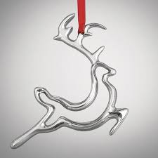 2014 nambe reindeer ornament silver superstore