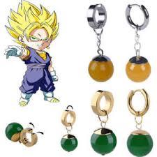 potara earrings z vegetto potara earrings black goku