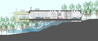 modern hillside house plans garage built in to hillside houzz house design on hill slopes