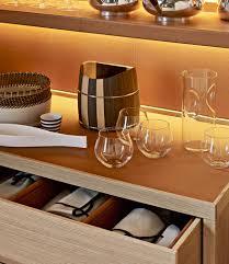 Table Haute En Bois Massif by Buffet Haut Contemporain En Bois Massif Par Antonio Citterio