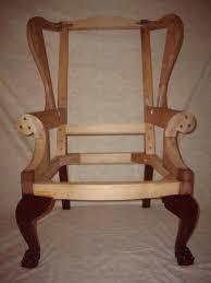 Wing Chair Chippendale Wing Chair Frame Finewoodworking
