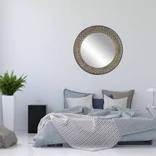 home decorators collection geneva 32 in x 32 in wall mirror