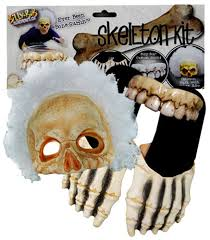hockey mask halloween walmart billy bob skeleton kit sandals teeth afro mask halloween