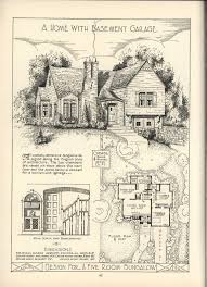 Storybook Cottage House Plans 486 Best Vintage Home Plans Images On Pinterest House Floor