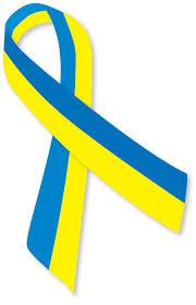 blue and yellow ribbon file blue and yellow ribbon ua png wikimedia commons