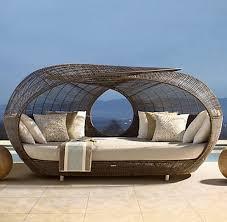 Rattan Wicker Patio Furniture - unique furniture for outdoor made of wicker rattan idea simple